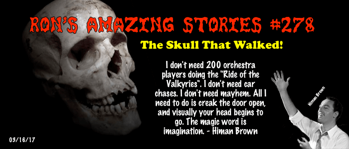 The Skull That Walked
