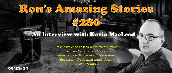 Kevin MacLeod Interview
