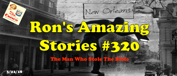 RAS #320 – The Man Who Stole The Bible