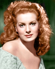 Actress - Maureen O'Hara