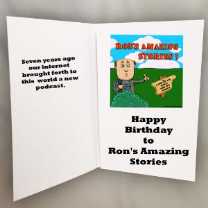 RAS Birthday Card