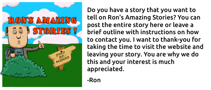 Ron's Amazing Stories - Submissions