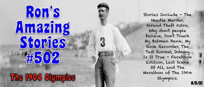 RAS #502 – The 1904Olympics
